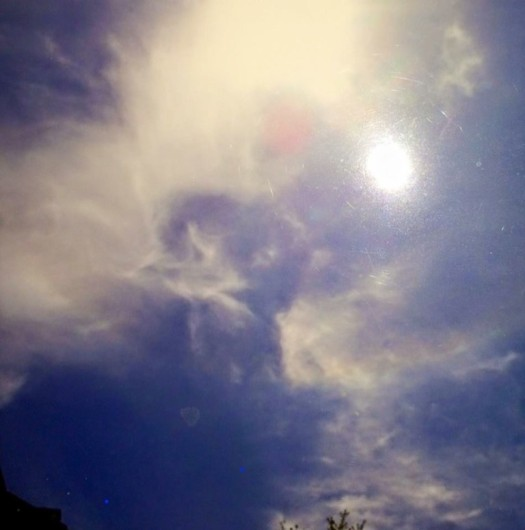 """Angel in the Sky in Stamford, Connecticut"" – Photo by Lynne Newman"