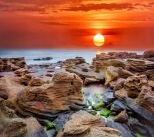 sunsetoverrocks